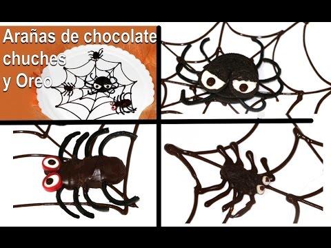 3 Arañas comestibles para Halloween