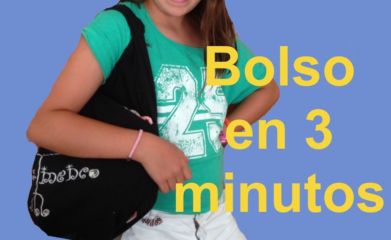 Bolso sin coser en 3 minutos