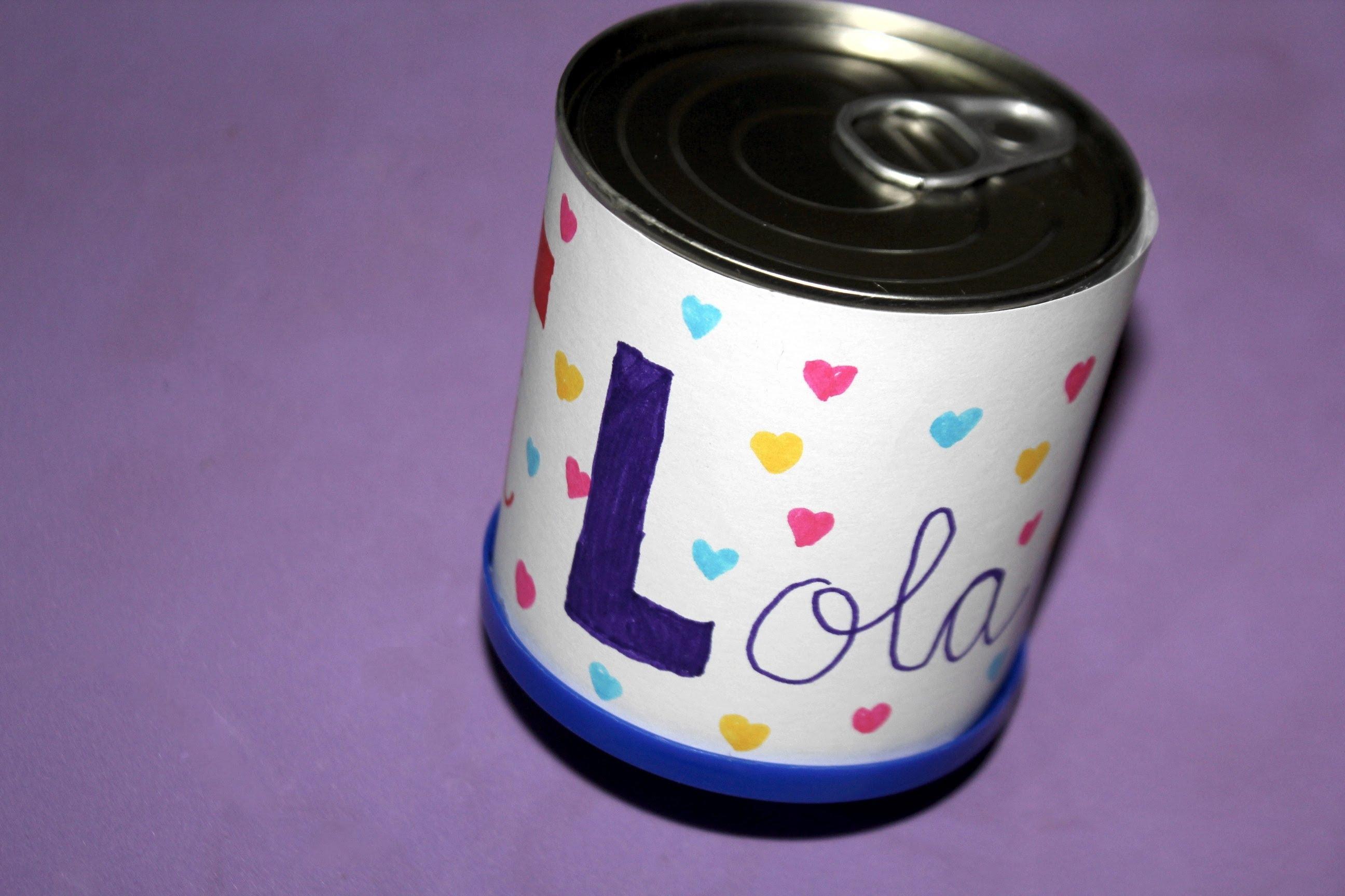 Etiquetas para latas