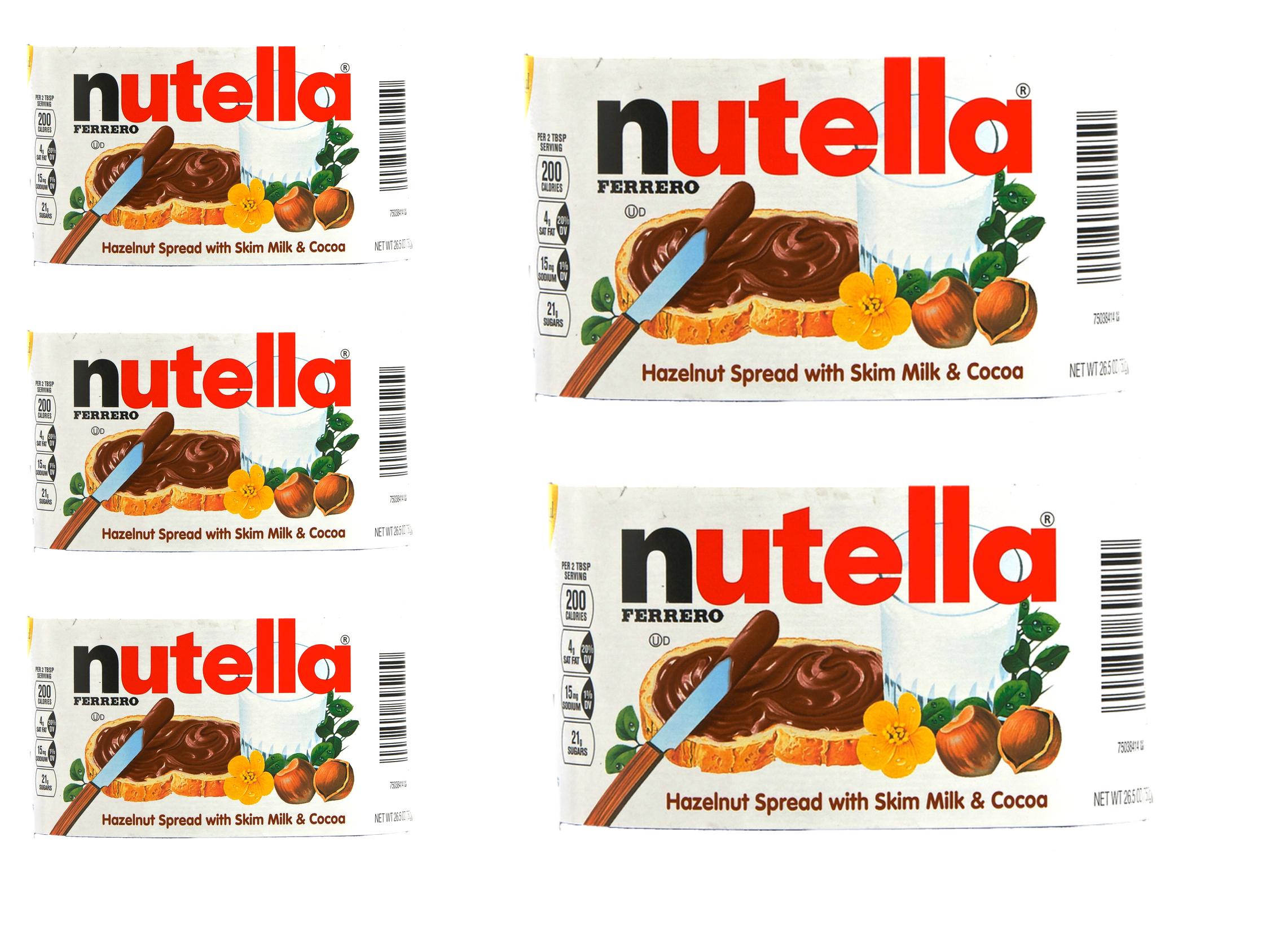 Imprimible para hacer bote de Nutella - Ideas2share