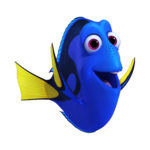 FINDING DORY - DORY (voice of Ellen DeGeneres) is a bright blue tang with a sunny personality. She suffers from short-term memory loss, which normally doesn't upset her upbeat attitude—until she realizes she's forgotten something big: her family. She's found a new family in Marlin and Nemo, but she's haunted by the belief that someone out there is looking for her. Dory may have trouble recalling exactly what—or who—she's searching for, but she won't give up until she uncovers her past and discovers something else along the way: self-acceptance. ©2016 Disney•Pixar. All Rights Reserved.