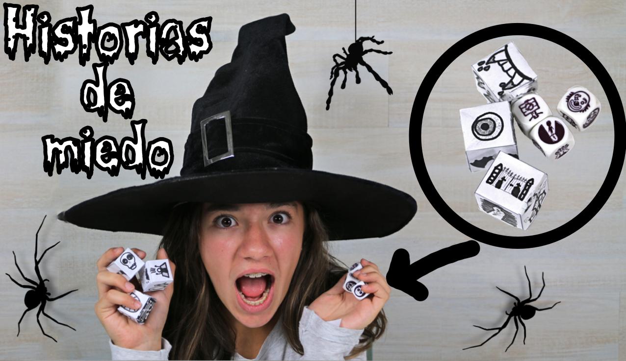 Inventamos historias para Halloween con los Story Cubes