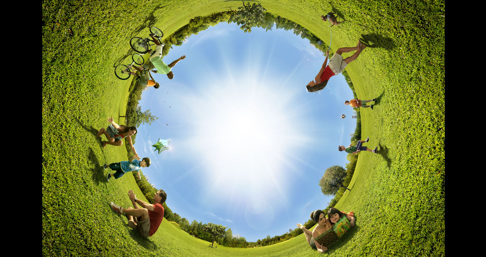 La vida es como un espejo, te sonríe si la miras sonriendo #ideas2helpu
