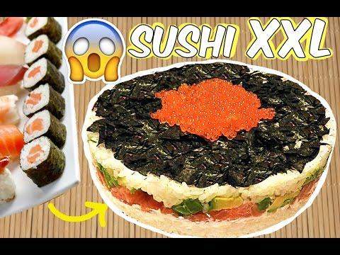 Tarta de sushi GIGANTE