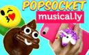 Popsocket o soporte para Musically de Emojis