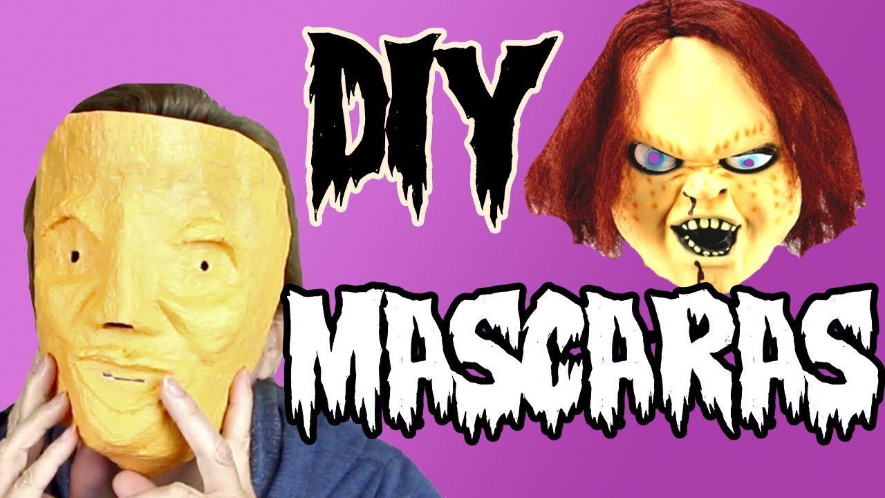 Haz tu máscara para disfraces usando una botella de plástico y papel de periódico