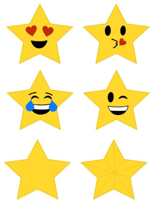 emoji stars