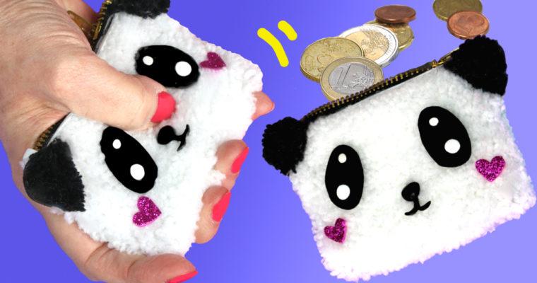 Cómo hacer un monedero de Peluche usando lana y Goma Eva