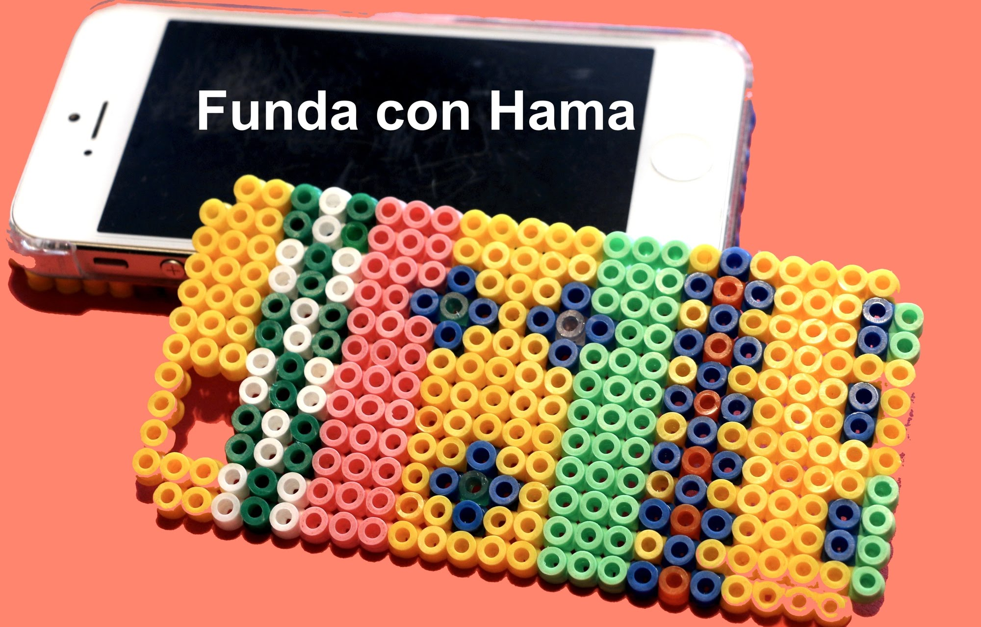 Decoramos la funda del móvil con Hama