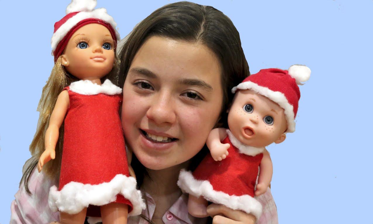 Disfraz de Papá Noel para Nancy y Baby Pelones