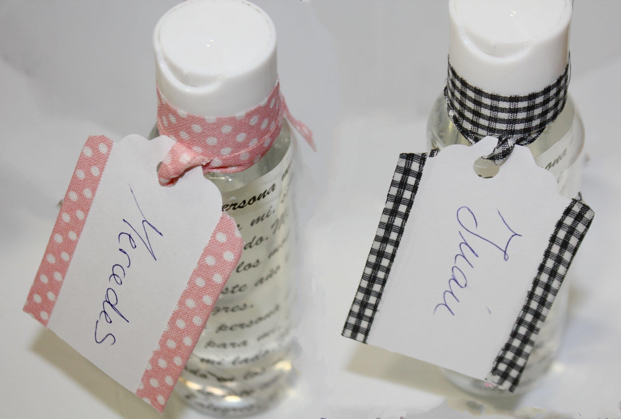 Jabón con mensaje para recuerdo de bodas, comuniones..