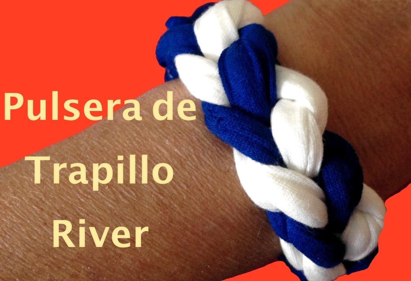 Pulsera de trapillo River
