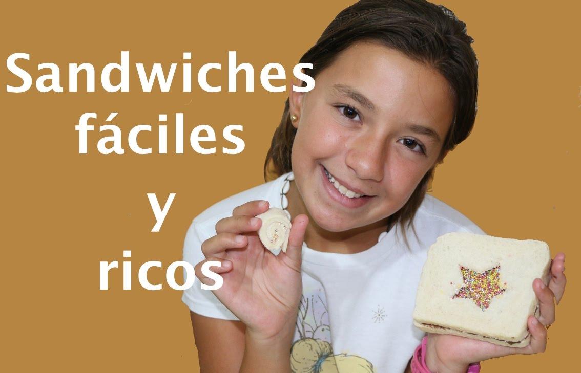 Sandwiches para la merienda del colegio