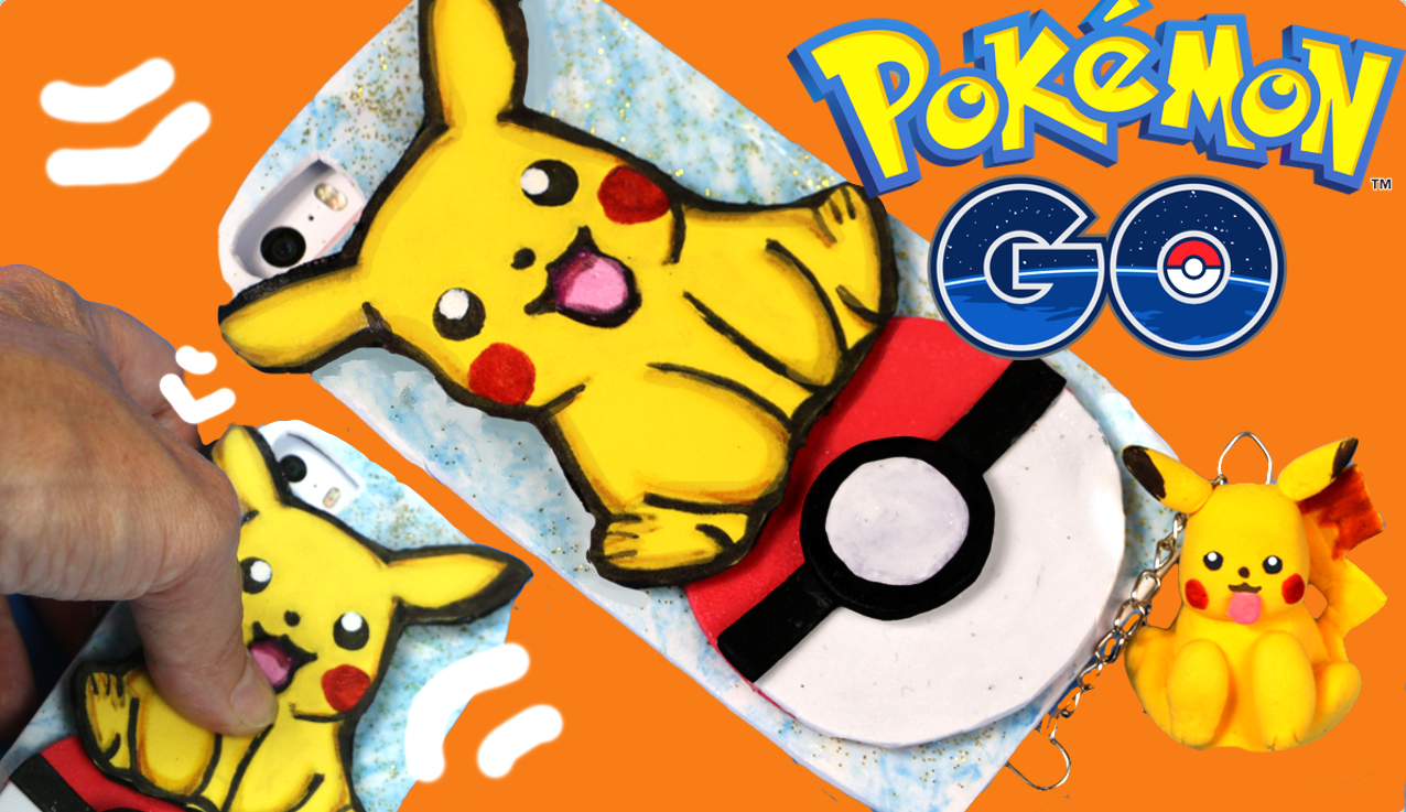 [:es]Funda para móvil de Pikachu. Pokemon GO[:]