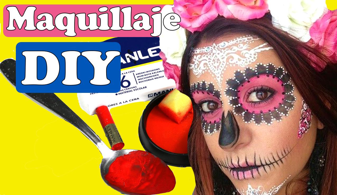 DIY pintura para maquillaje casero para disfraces de Halloween