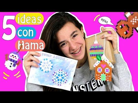 5 ideas con Hama para Navidad