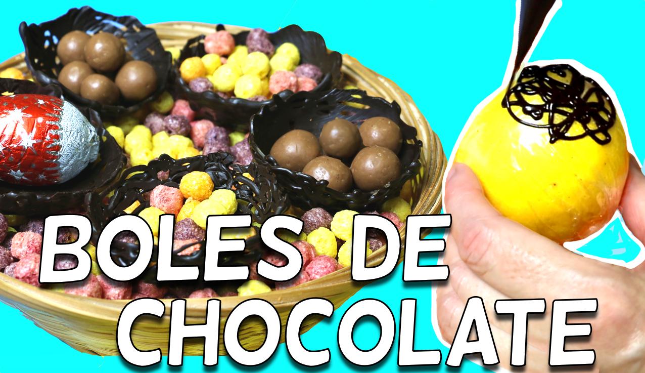 4 ideas increíbles para hacer boles de chocolate