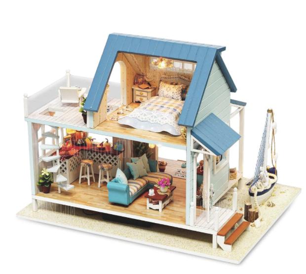 Casa de muñecas hechas a mano: Ideas para regalar DIY