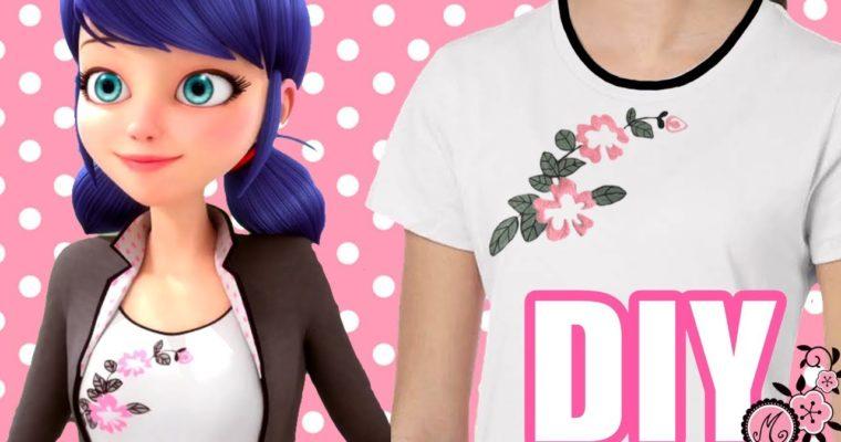 MIRACULOUS: Cómo hacer en 5 minutos la camiseta de Marinette o Ladybug para disfraz
