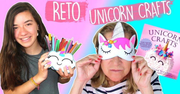 Manualidades fáciles con Unicornios: Antifaz y Porta lápices